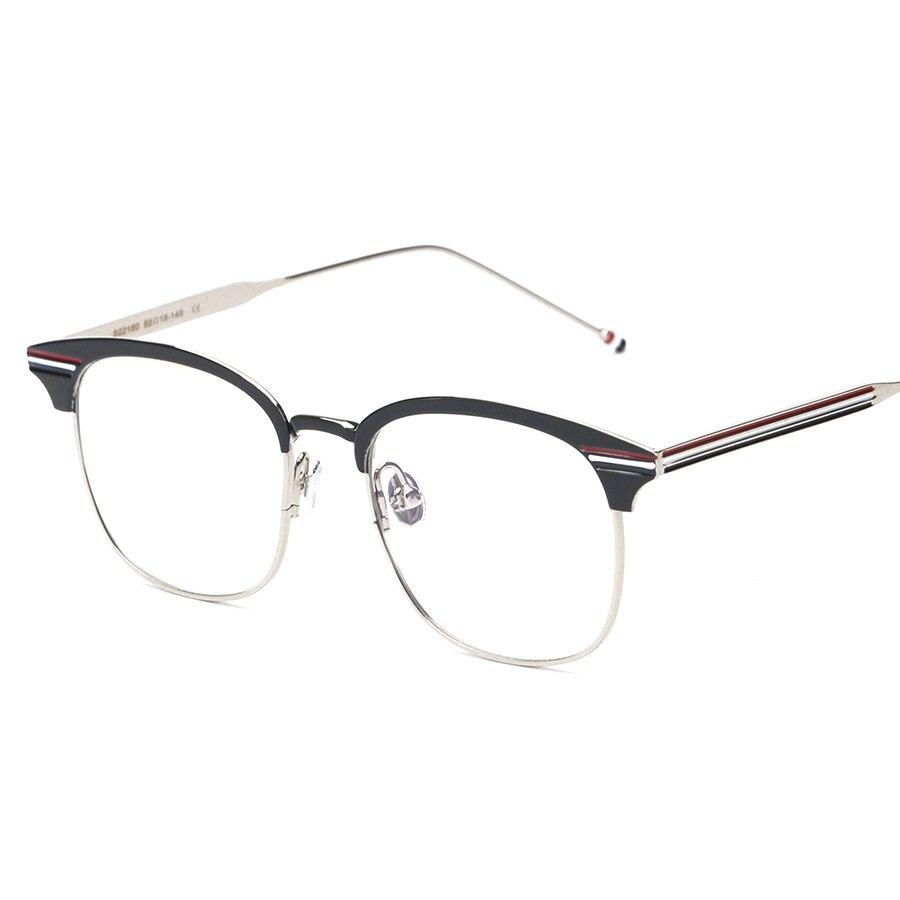 Vazrobe Brand Designer Men\'s Glasses Frame Gold Silver Eyeglasses ...