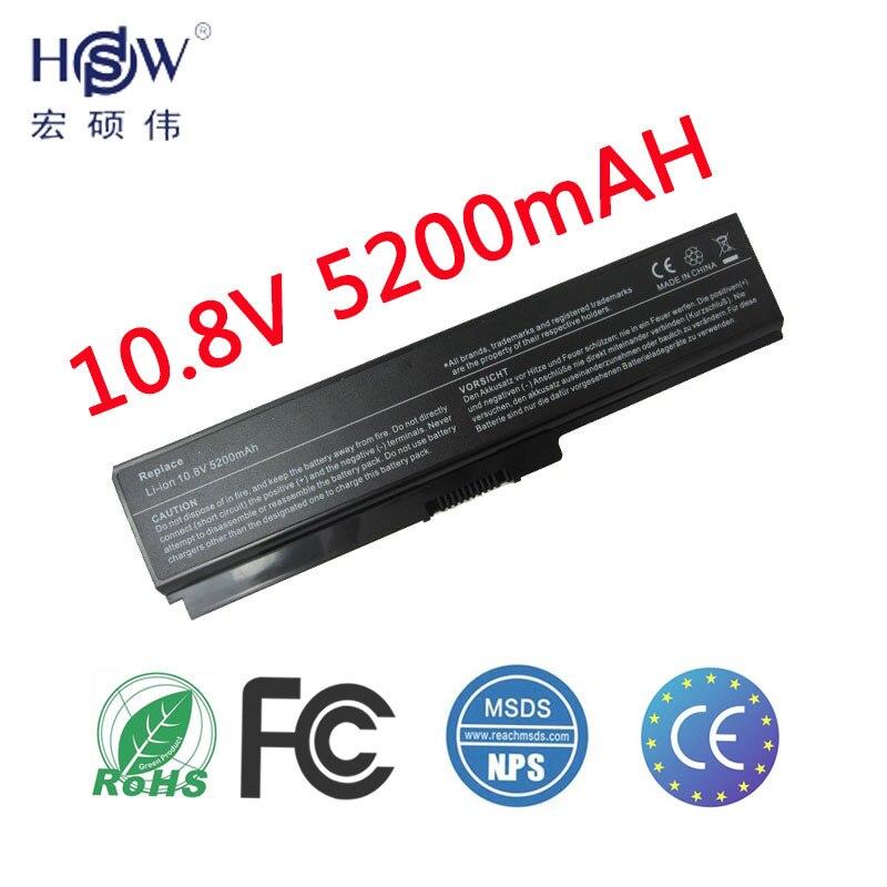 HSW batterie d'ordinateur portable pour toshiba Satellite A665D batteries C640 C640D C645D C650 batterie C655 C655D C660 C660D batterie portable
