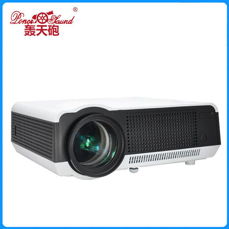 Thinyou LED LCD WiFi Android Projector Full HD 3D Smart Home Theater Game Beamer Proyector 1080P HDMI USB SD AV VGA Video wzatco led96 tv projector full hd 1080p android 4 4 wifi smart rj45 3d home theater video proyector lcd projector beamer for ktv