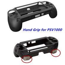 Para psv1000 psv 1000 ps vita 1000 game console aperto da mão punho segurar joypad suporte caso escudo proteger com l2 r2 gatilho botão