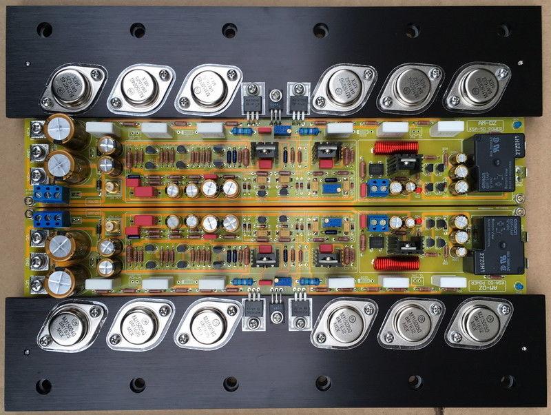 ZEROZONE One pair Upgraded Pure Class A Amplifier board base KRELL KSA50 MKII L7 52