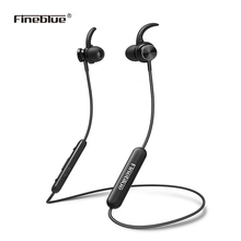 Купить FineBlue Mate 10 Sports Bluetooth Headset Intelligent Noise Cancellation Halter-neck Wireless Earphone Neckband Headphones в Москве и СПБ с доставкой недорого