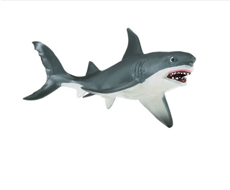 Cool Shark Toys : Aliexpress buy great white shark simulation model