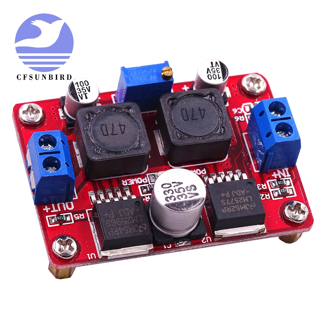Sweet-Tempered Dc-dc Adjustable Step-up And Step-down Power Supply Module Boost And Buck Voltage Converter Led Lm2596&lm2577 Drip-Dry Back To Search Resultselectronic Components & Supplies Active Components