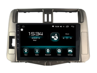 Octa core android 8.0 4gb ram and 32gb rom ips screen bluetooth car radio navigation system for toyota PRADO LC150 2010 player