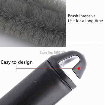 1PCS Car Wheel Tire Rim Washing Cleaning Brush for jeep renegade subwoofer yeti cooler bmw e46 f30 e90 nissan honda civic 2017 image