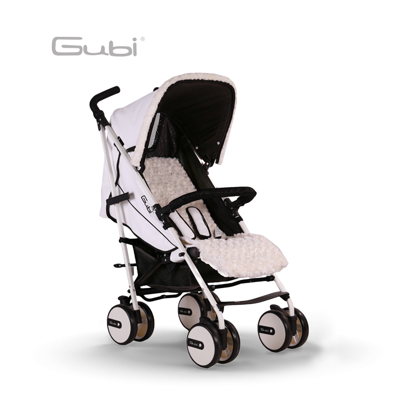 Gubi Baby trolly Shock Absorber Childrens Umbrella Car Four Wheeled Baby Stroller