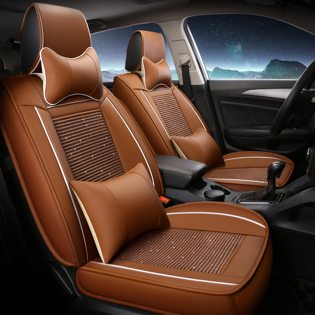 Full Set Car Seats Covers For Nissan Kicks 2018 Breathable Fashion Seat