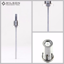 "2 vnt Crystal Easy-Off Mandrel (1110551) - sidabras - ""WILSON PRECISION TOOL"""
