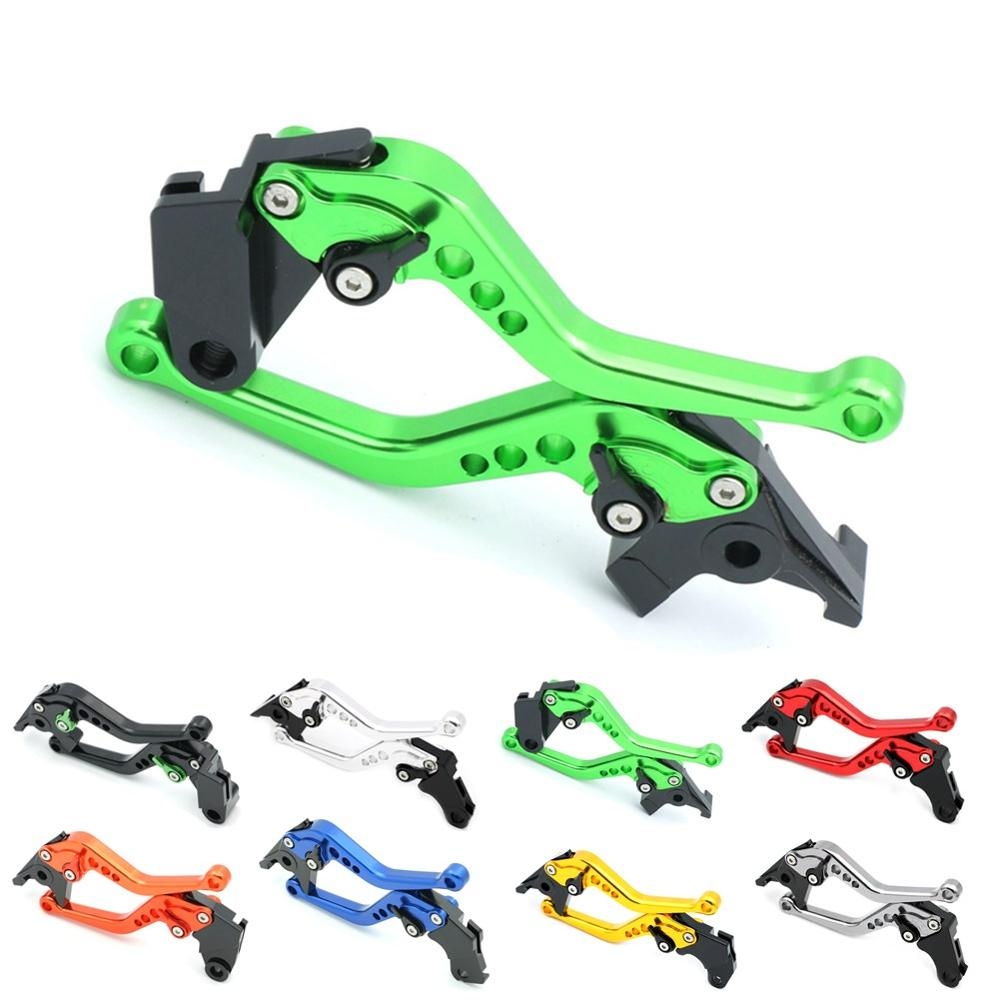 Motorcycle Brake Clutch Levers CNC w/ Regulator for Kawasaki NINJA 400R 650R ER-6F ER6F Z300 Z750 Z750S Z800 Z800E Version Z1000 top quality cnc foldable folding fingers wave brake clutch levers for kawasaki ninja 650r er 6f er 6n 2006 2008 red