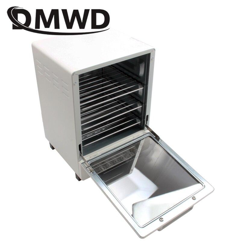 DMWD MINI grille-pain four électrique multifonction minuterie faisant des biscuits pain gâteau pizza biscuits cuisson machine 12L litre 800W EU US - 5