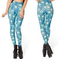 Hot Autumn Custom Lddies Fitness CORPSE BRIDE LEGGINGS Digital Printed Milk Vintage Pants For Women