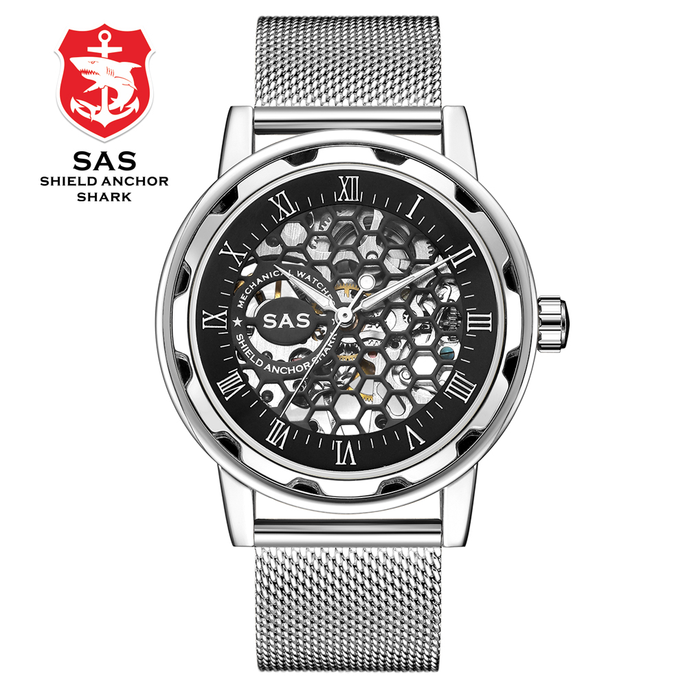 Brand Luxury Men Watch Military Automatic Watch Stainless Steel Casual Sport Business Metal Wristwatch Mechanical Watches Men 3