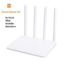 Оригинальный Xiaomi Mi Wi-Fi роутера 3g 1167 Мбит/с 2,4 ГГц/5 ГГц Новый Стиль Горячие Dual Band 128 МБ USB ROM 3,0 США/ЕС/АС штекер маршрутизатор