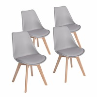 The Modern Style Plastic Dining Chair Leisure Chair Luxury Home Furniture White Black Red Grey For