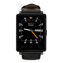NO. 1 D6 1G RAM 8 GB ROM MTK6580 Smart Uhr Quad Core Pulsmesser Smartwatch Für Android 4.4