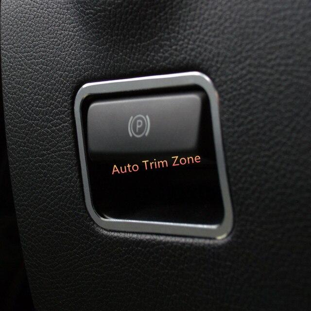 Elektrische Hand Feststellbremse Tasten Trim 1 STüCKE Für Mercedes