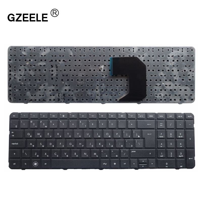 GZEELE New RU Russian Keyboard For HP Pavilion G7-1000 G7-1100 G7-1200 G7-1001 G7-1222 G7-1001XX G7-1075DX Laptop Keyboard BLACK