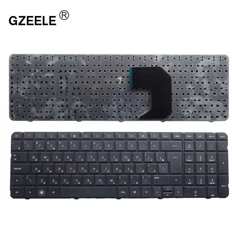 GZEELE New RU Russian Keyboard For HP Pavilion G7-1000 G7-1100 G7-1200 G7-1001 G7-1222 G7-1001XX G7-1075DX Laptop Keyboard BLACK