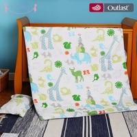 i baby Baby Bedding Set 4pcs Crib Set Baby Duvet Cute Animal Safari 100% Cotton Printed Sheet Pillow Cot Sets for Newborn