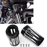 Motorcycle Aluminum Motorcycle Boot Fork Boots Slider for Harley Davidson FLHX FLSTF FLSTN FLHR FLT FLHT Touring