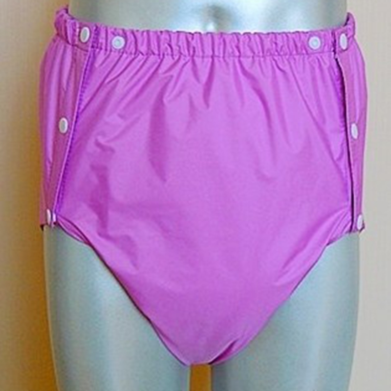 Free Shipping FUUBUU2044-PURPLE-M PUL Adult Diaper/ Incontinence Pants /Adult Baby ABDL