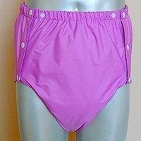 Free Shipping FUUBUU2044 PURPLE M PUL Adult Diaper/ incontinence pants /Adult baby ABDL