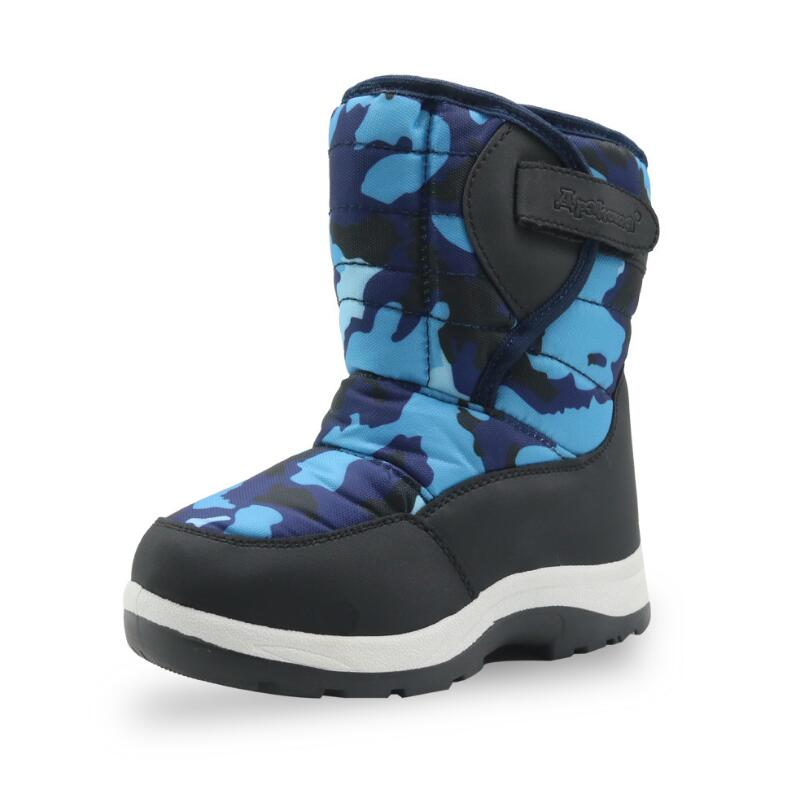 SKHEK -30 Degree Russia Winter Warm Baby Boots Fashion Waterproof Children's Shoes Girls Boys Boots Perfect For Kids Accessorie 30 degree russia winter warm baby shoes fashion waterproof children s shoes girls boys boots perfect for kids accessories