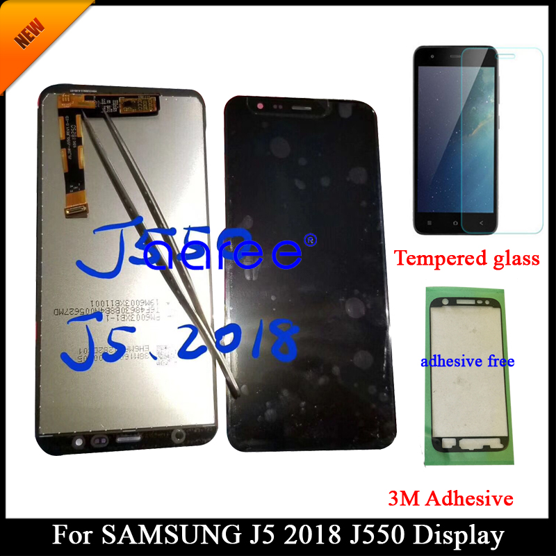 Tested Grade AAA adjustable LCD For Samsung J5 2018 J550 For Samsung J5 2018 j550 LCD