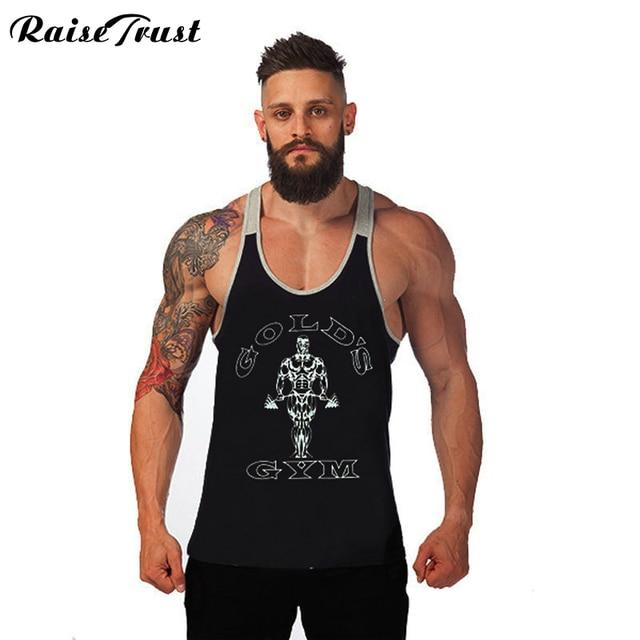 52d813da24b9f 2019 Newest Brand powerhouse musculation Bodybuilding Fitness Men tanktop  Vest Men  Tank Tops casual Plus