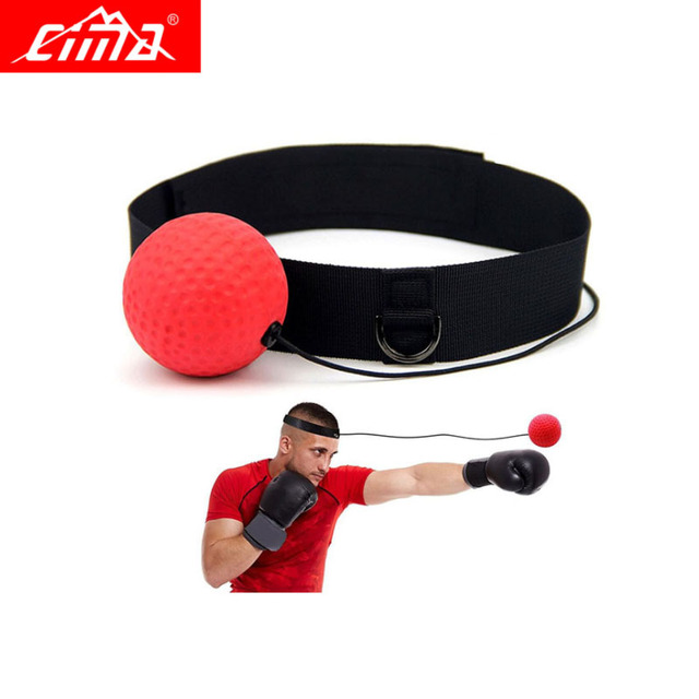 Boxing Ball String Reflex  Sport Training Fitness Silikon Punch Bands