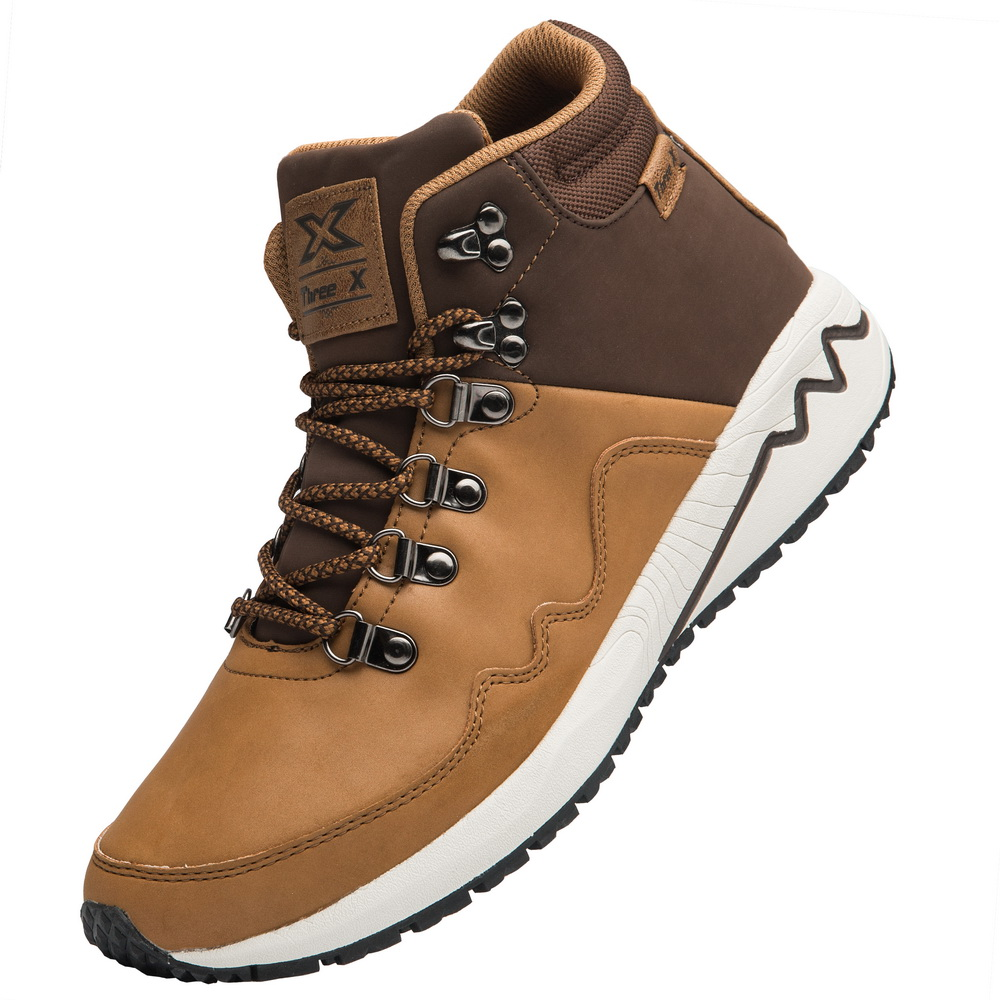 Trekking Shoes Men Outdoor Boots Size 41-46 Mens Mountain Climbing Boots Autumn Winter Men Hiking Sneakers High Top Boots kerzer outdoor shoes men autumn winter hiking boots slip on trekking shoes leather mountain climbing sneakers