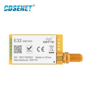 Image 2 - 1pc 868 MHz LoRa SX1276 rf Modul Lange Palette E32 868T30D UART 1W iot rf Transceiver 868 MHz Ebyte rf Sender und Empfänger