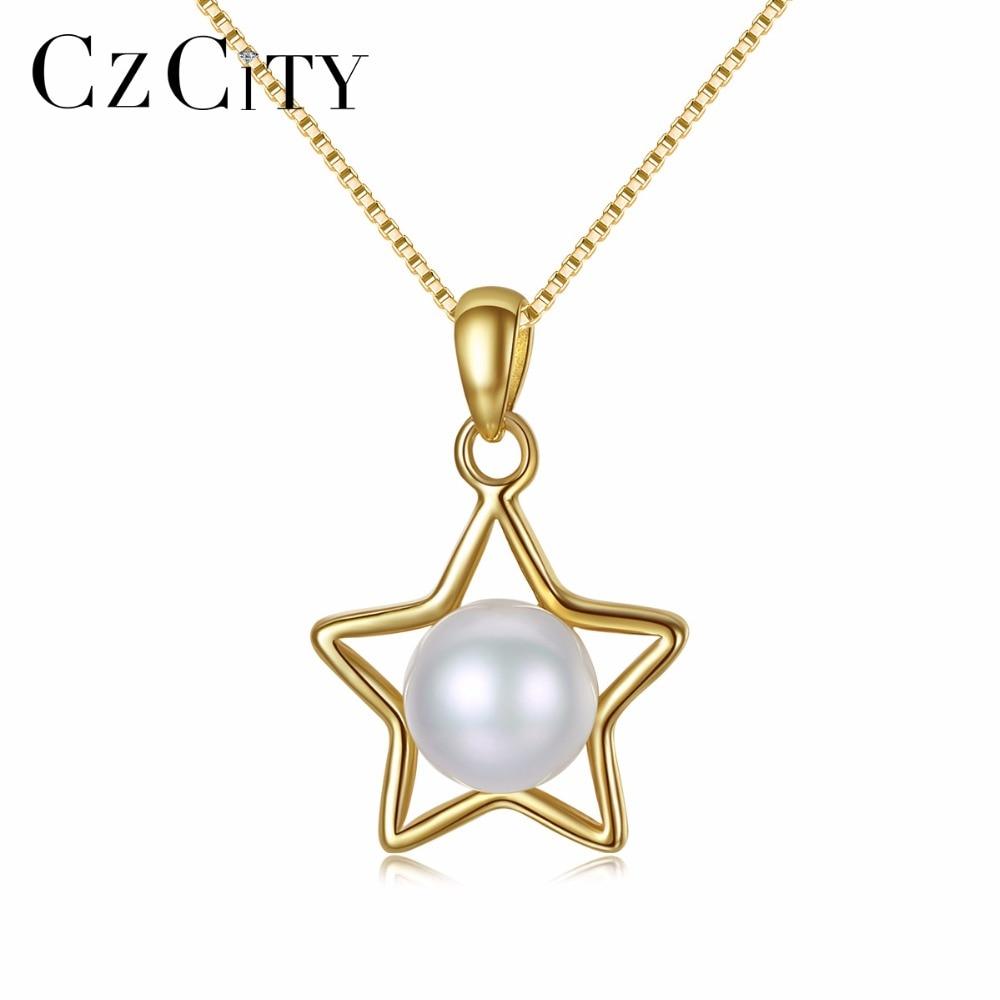 Aliexpress.com : Buy CZCITY Charm Star Design Pearl