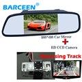 """Aplicar para NISSAN QASHQAI/X-TRAIL 5 """"wide screen ângulo de câmera traseira do carro de estacionamento espelho + 170 faixa Dinâmica linha"""