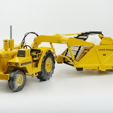 Изысканная модель из сплава 1:24 Масштаб Reuhl Джон-Дин 840/400 сельскохозяйственные Тракторные транспортные средства литая игрушка модель Коллекция украшения
