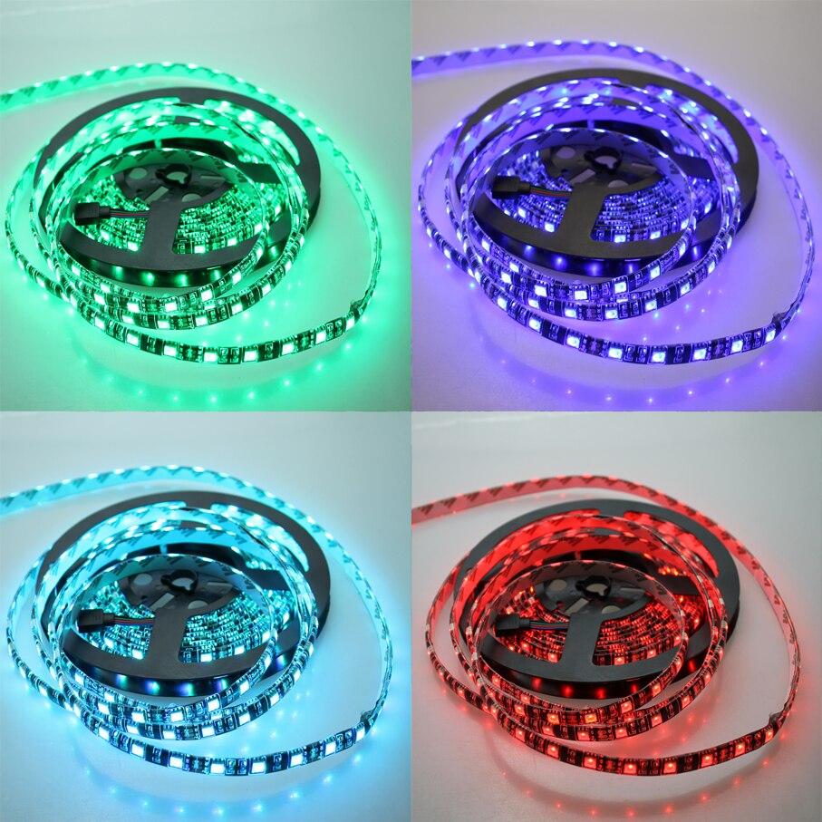 Жарық диодты жолақ 12 V 5050 RGB Түсті суға - LED Жарықтандыру - фото 6