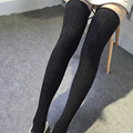 Fashion Women's Sexy Warm Cotton for women Long Solid Thigh High Stockings compression stockings Over Knee tights stockings