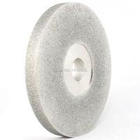 6 дюймов гранильной Грит 60 180 diamond Уход за кожей лица Шлифовальные круги покрытием фронтальной абразивный диск залп Арбор 1 ювелирные издели