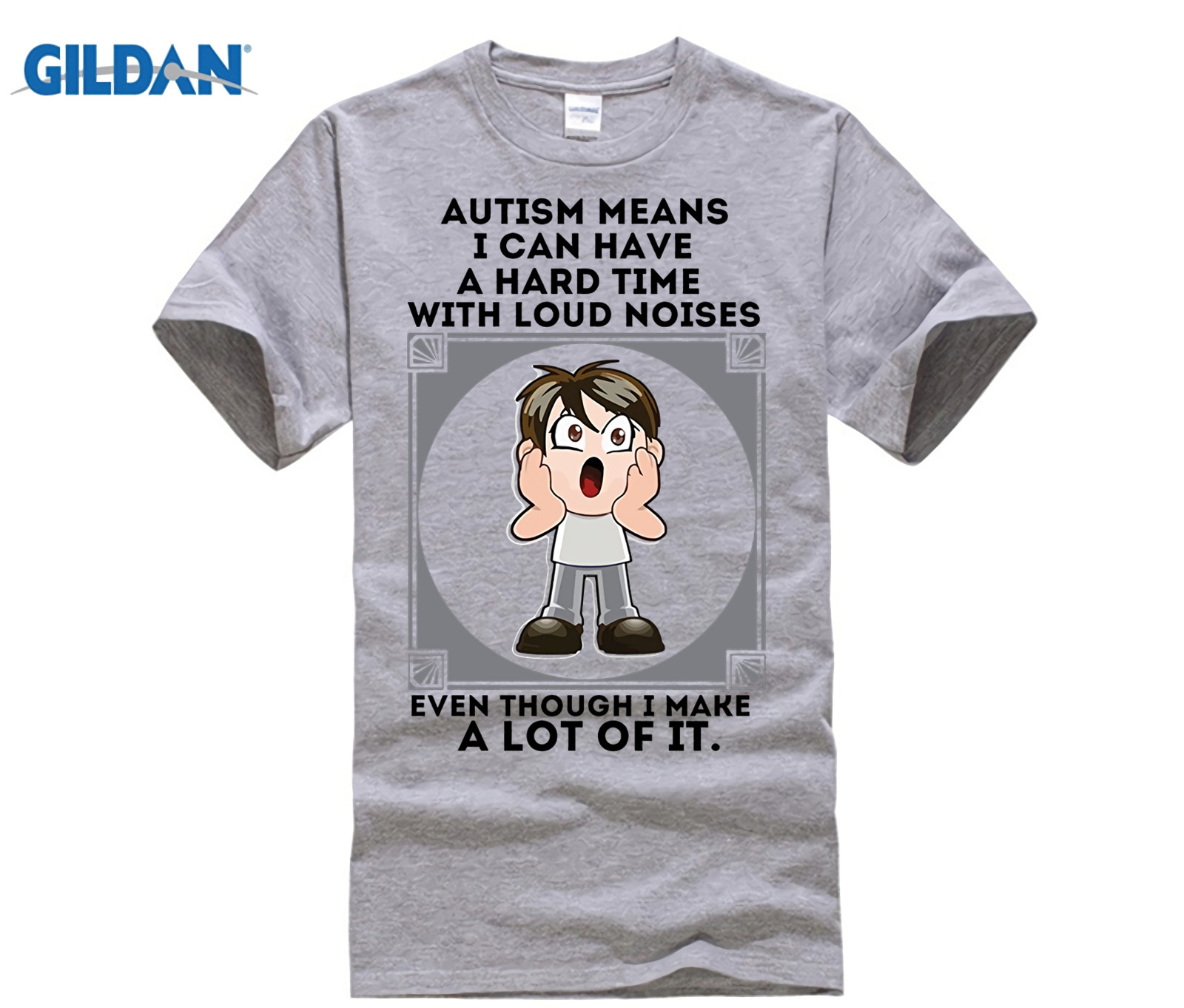 8f4506022 GILDAN Autism Awareness T Shirt Autism Shirts for Kid Dad Mom-in T-Shirts  from Men's Clothing on Aliexpress.com | Alibaba Group