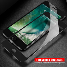 9H Tempered Glass On the For iPhone 6 6S Plus 7 8 Plus Screen Protective Glass For iPhone 5 5S SE Precise Hole Position Film
