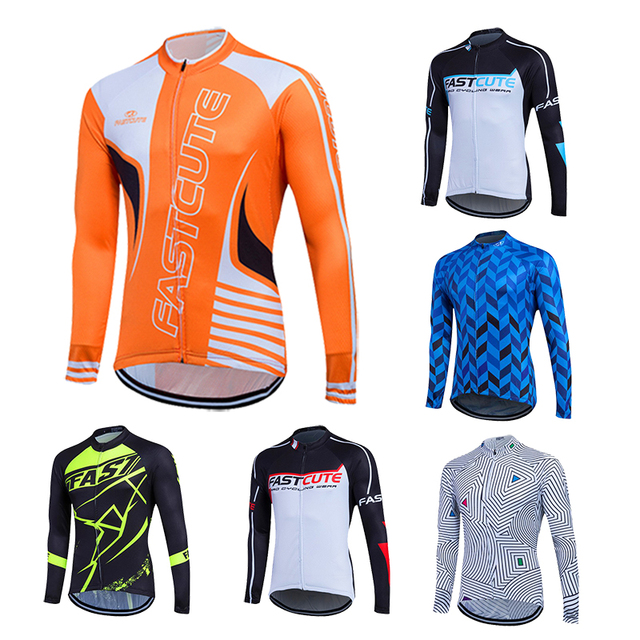11 Colors Choice Montain Bike Cycling Jerseys Long Sleeve Breathable Quick  Dry Bike Clothes Maillot Ciclismo Manga 823671e2b