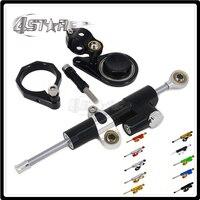 Motorcycle Steering Damper Stabilizer & Bracket For SUZUKI GSXR600 GSXR750 GSX600R 2006 2007 2008 2009 2010 GSXR1000 07 08