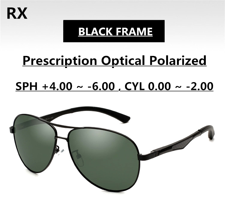 03e41cb7610 Polarization Green Sunglasses Men Ophthalmic Lenses EXIA OPTICAL KD 101  Series-in Sunglasses from Apparel Accessories on Aliexpress.com