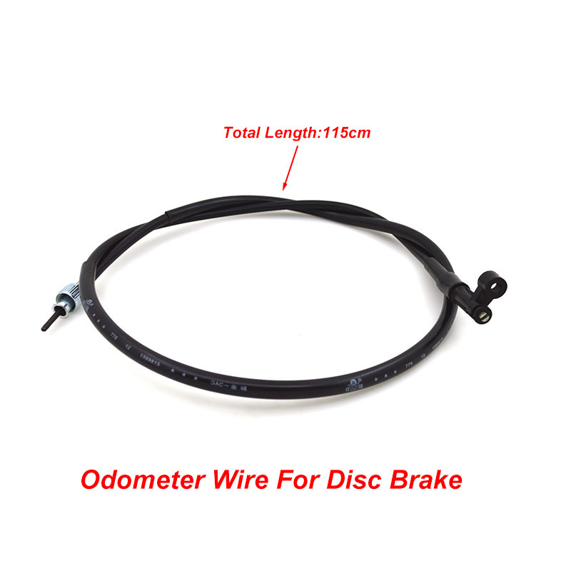 Motorcycle WH 125 Disc Drum Brake Odometer Clutch Tachometer  Oil Hose Throttle Cable Rope Wire Line For Honda WH125 Spare Parts motorcycle clutch cable rope throttle brake oil accelerator control wire line for kawasaki ninja 250 r ex250 08 12 11 10 09