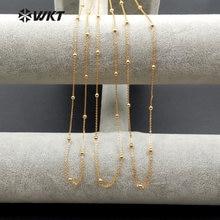 Ожерелье с круглыми цепочками для хлеба 18 дюймов wt n1058 оптовая