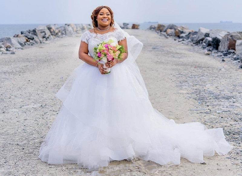 South Africa 2019 Gorgeous Plus Size Wedding Dresses Lace