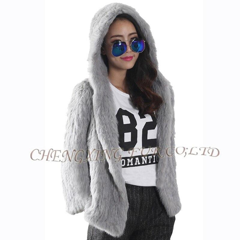 Outwear gris 19 Hiver Cx Tricoté 2016 natural Femmes Manteau Fourrure a Véritable De Lapin Brown Mode Nouveau Chaud Veste Grey g Natural aafqwFH