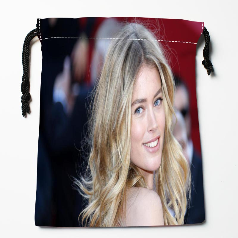 New Custom Doutzen Kroes Drawstring Bags Custom Storage Bags Storage Printed Gift Bags Compression Type Bags