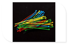 DFRobot Nylon Cable/Wire/Cord/Strap Tie/Zip Set Five Colors 50pcs/lot 2x98mm – Blue + Red + Green + Black + Yellow